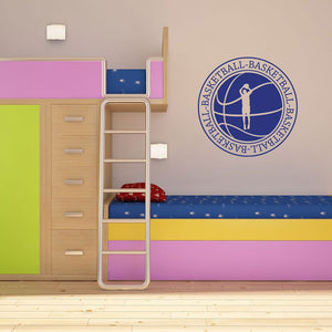 Basketball Wall Decal-Wall Decals-Style and Apply