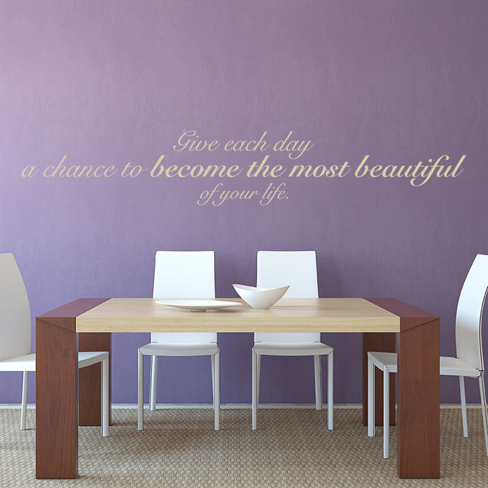 Beautiful Day Wall Decal
