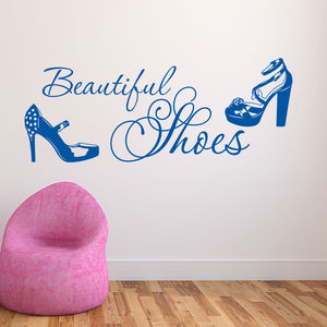 Beautiful Shoes-Wall Decal