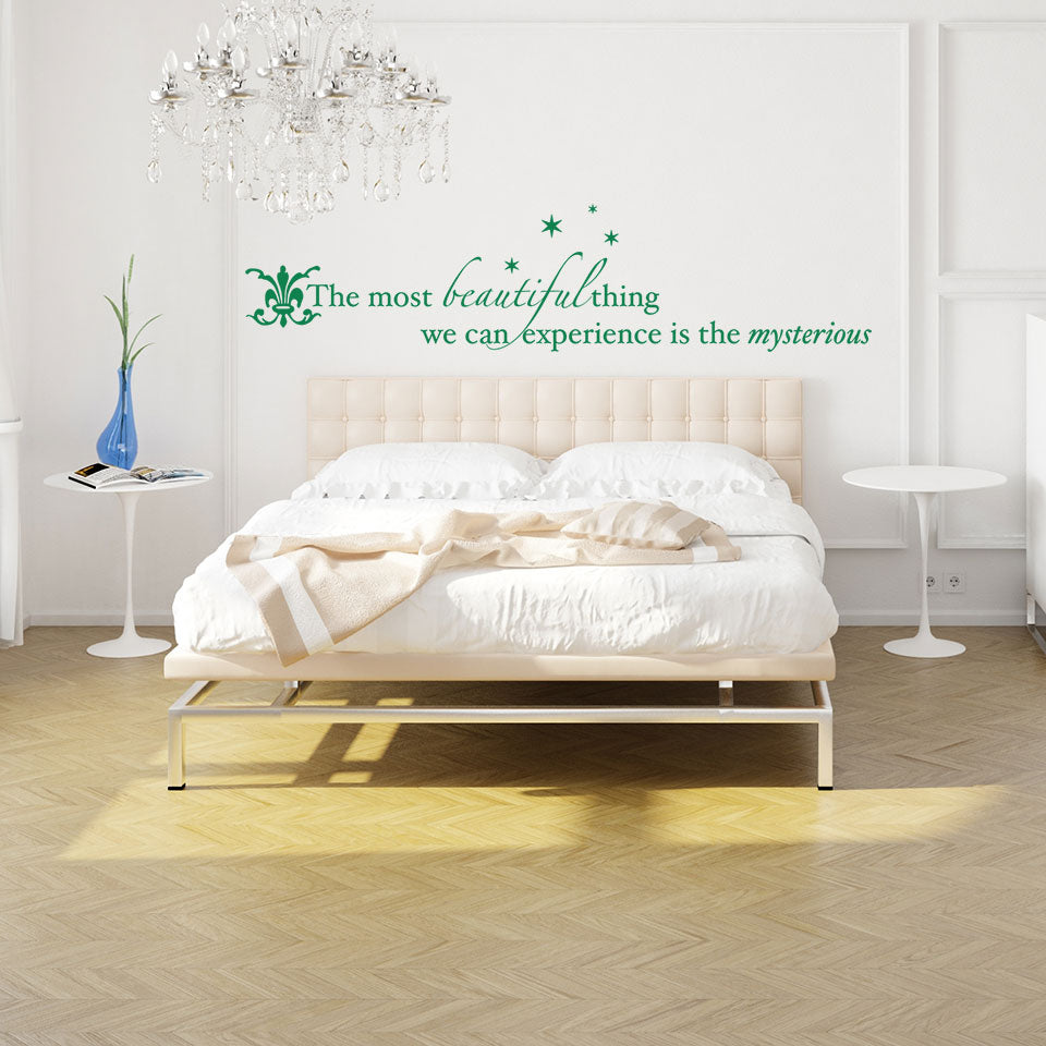 Beautiful Things-Wall Decal quote