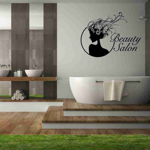 Beauty Salon Wall Decal-Wall Decals-Style and Apply