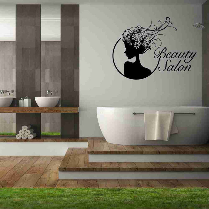 Beauty Salon Wall Decal