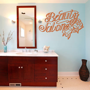 Beauty Salon-Wall Decal