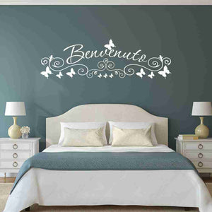 Benvenuto Wall Decal-Wall Decals-Style and Apply
