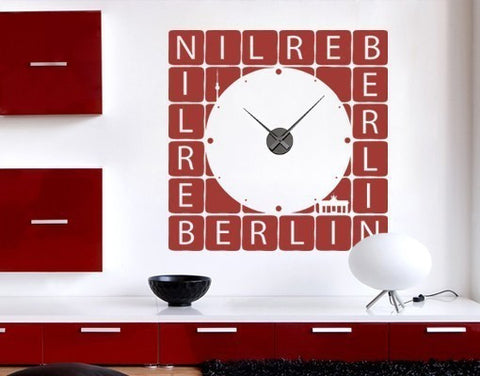 Berlin Clock-Wall Decal Clocks-Style and Apply