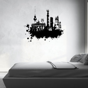 Berlin Streetart Decal-Wall Decals-Style and Apply