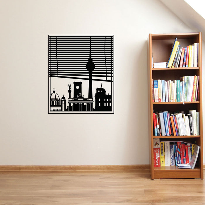 Berlin View Wall Decal