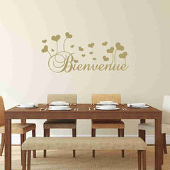 Bienvenue Wall Decal-Wall Decals-Style and Apply