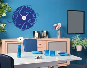 Big Clock-Wall Decal Clocks-Style and Apply