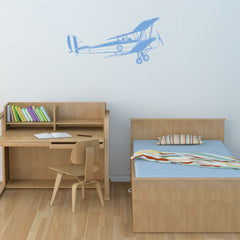 Biplane-Wall Decals-Style and Apply