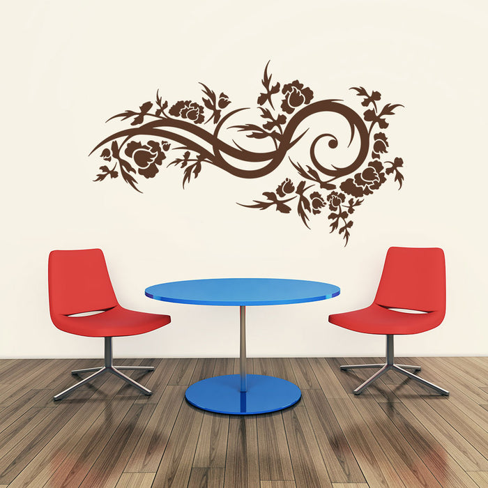 Bloom Wave Wall Decal