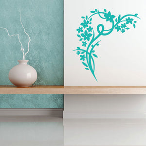 Blossom Corner Wall Decal