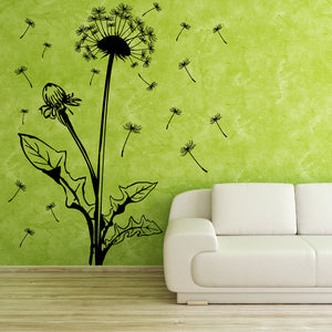 Blowball floral Wall Decal