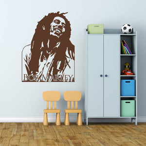 Bob Marley-Wall Decal