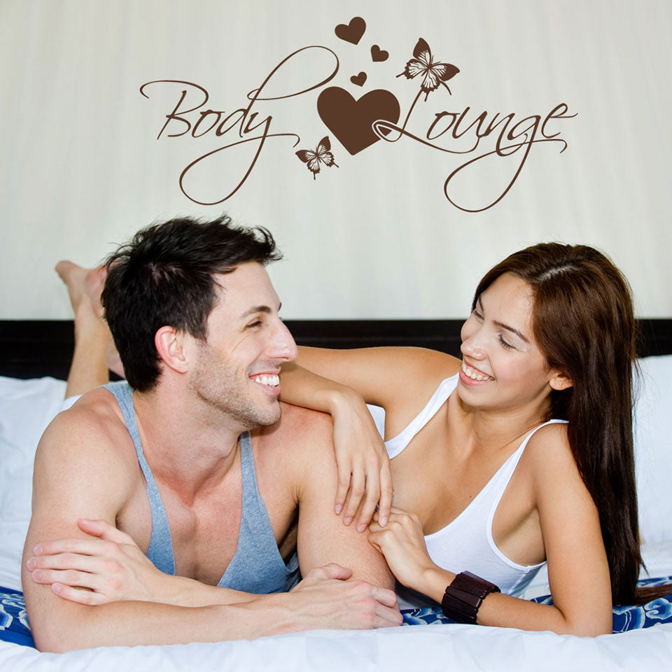 Body Lounge-Wall Decal