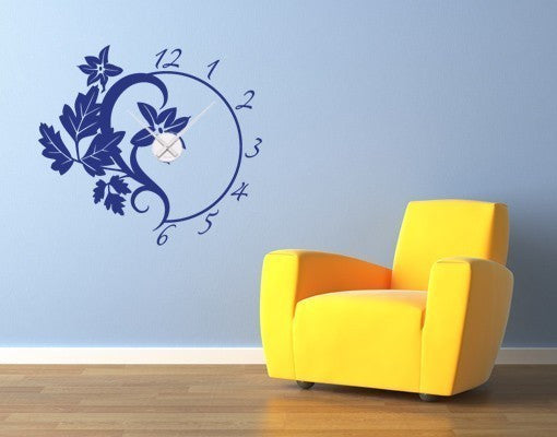Branch Wall Decal Clock