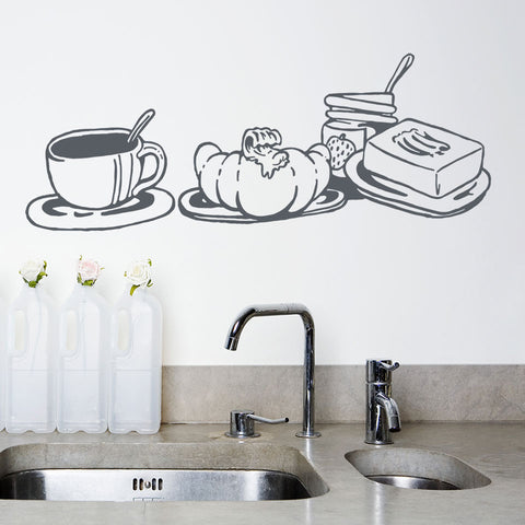Breakfast-Wall Decal