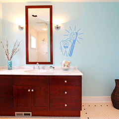 Brush Your Teeth Decal-Wall Decal