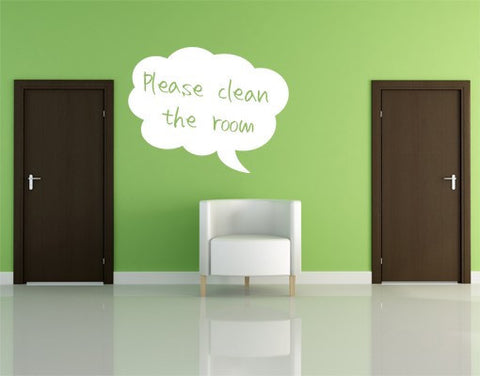Bubble-Blackboard and Whiteboard Wall Decals-Style and Apply