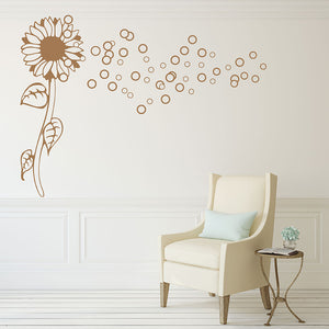 Bubble Flower Decal