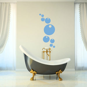 Bubbles-Wall Decal