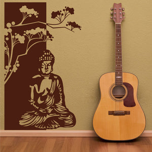 Buddha-Wall Decal