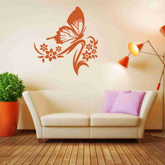 Butterfly Branch Wall Decal-Wall Decals-Style and Apply