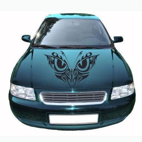 Butterfly Eyes Car Decal