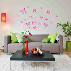 Butterfly Set Wall Decal-Wall Decal Stickers-Style and Apply