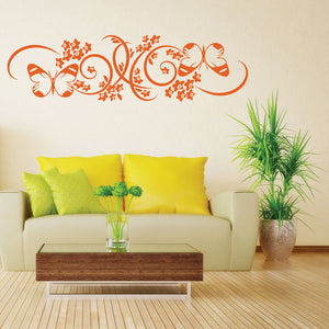 Butterfly Branch-Wall Decal