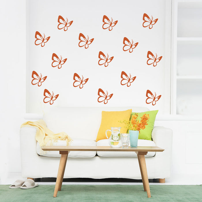 Butterflies 3 Wall Decal Set