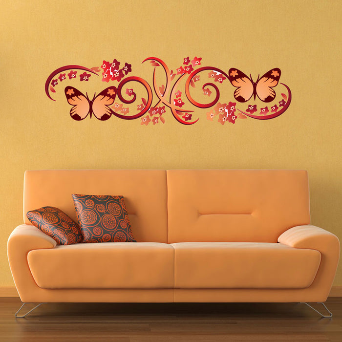 Gorgeous Butterflies Wall Decal