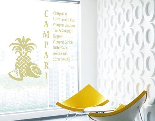 Campari-Window Decals-Style and Apply