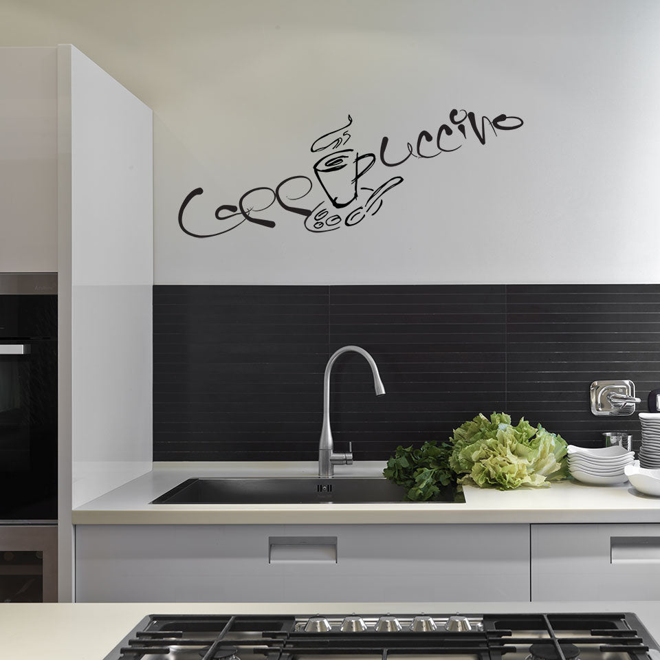 Cappuccino-Wall Decal
