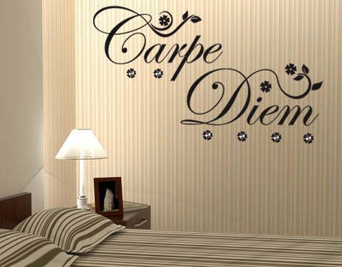 Carpe Diem-Wall Decal Hangers-Style and Apply