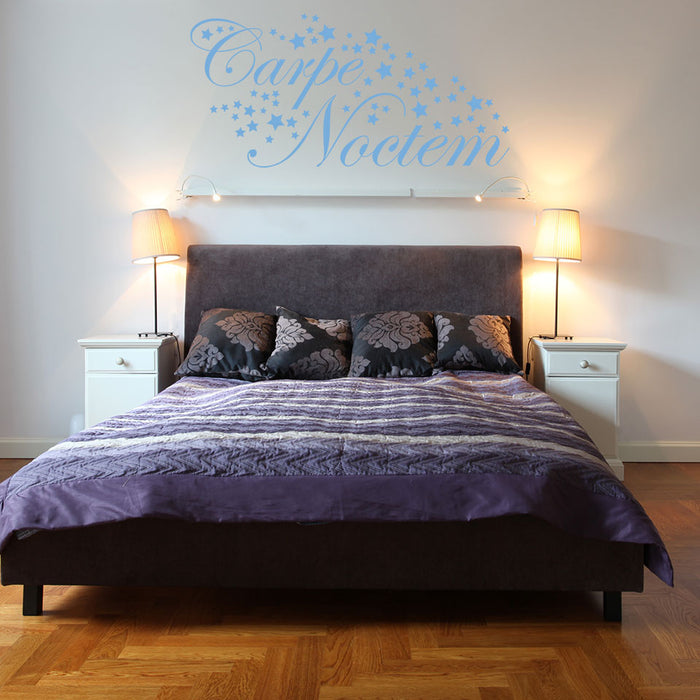 Carpe Noctem Stars Wall Decal