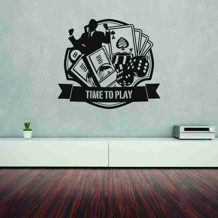 Casino Wall Decal
