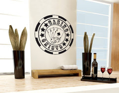 Casino-Wall Decals-Style and Apply