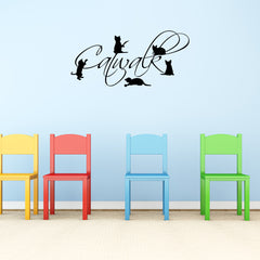 Catwalk Wall Decal-Wall Decals-Style and Apply