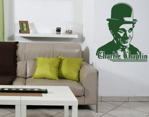 Charlie Chaplin-Wall Decals-Style and Apply
