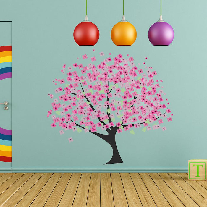 Cherry Tree Wall Decal Sticker