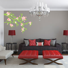 Cherry Blossom-Wall Decal Sticker