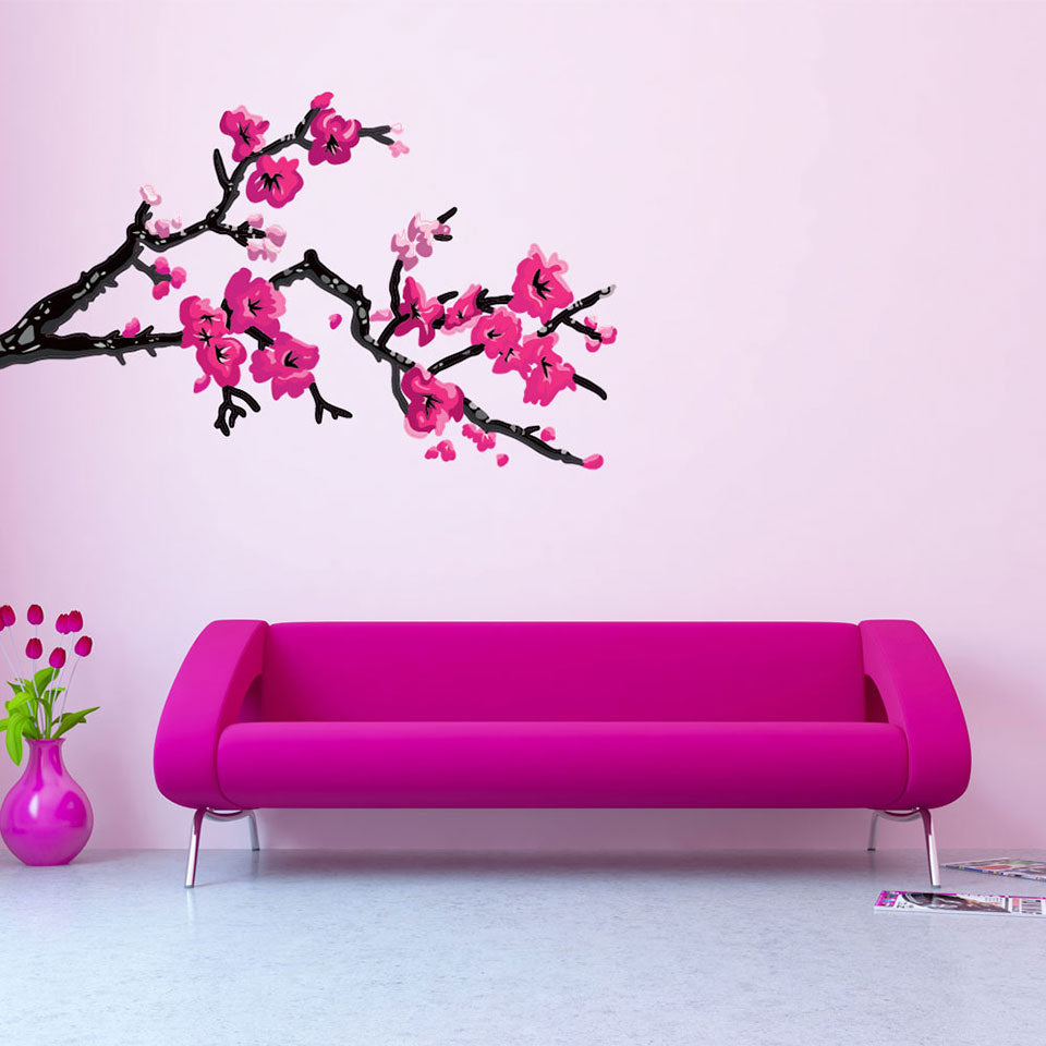 Cherry Blossom Ii Wall Decal Style And Apply