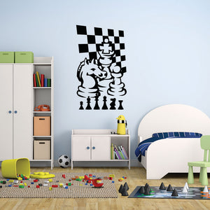 Chess Game-Wall Decal