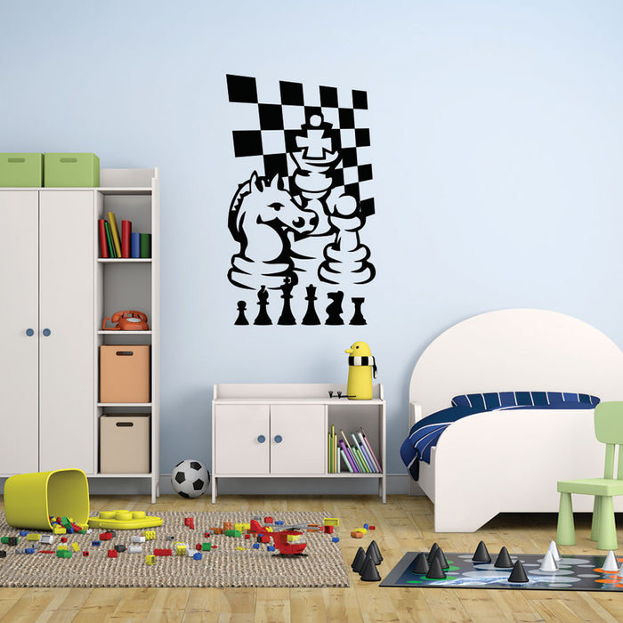 Chess Game Wall Decal