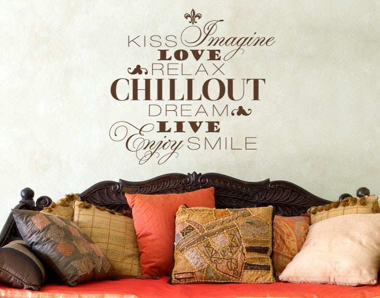 Chill-out Wall Decal-Wall Decals-Style and Apply