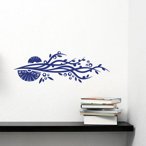 Chinese Loop-Wall Decal