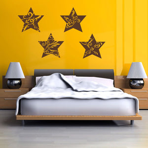 Floral Stars-Wall Decal