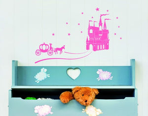 Cinderella-Wall Decals-Style and Apply
