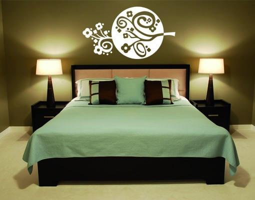 Circle Flower-Wall Decals-Style and Apply